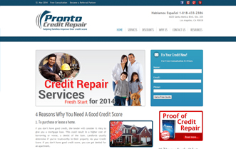 Pronto Credit Repair